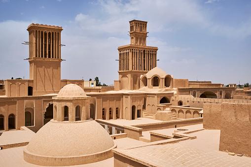 Yazd「Iran, Abarkuh, Aghazadeh palace」:スマホ壁紙(19)