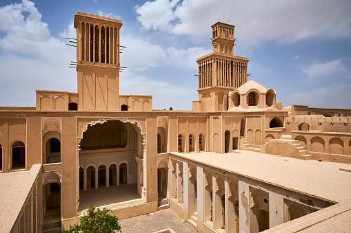 Yazd「Iran, Abarkuh, Aghazadeh palace」:スマホ壁紙(9)