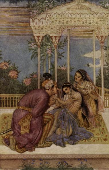 Hinduism「Nala and Damayanti」:写真・画像(19)[壁紙.com]