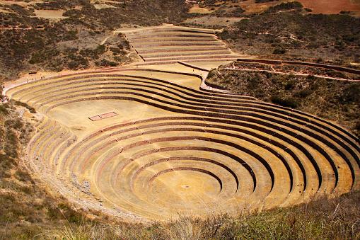 Peruvian Culture「Incan ruins, Moray, Cusco, Peru」:スマホ壁紙(14)