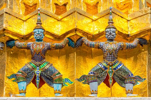 Buddha statue「Wat-Phra-Kaew, Bangkok」:スマホ壁紙(16)