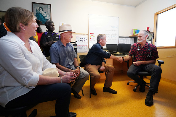 Sharpening「Bill Shorten Campaigns On The Tiwi Islands」:写真・画像(13)[壁紙.com]