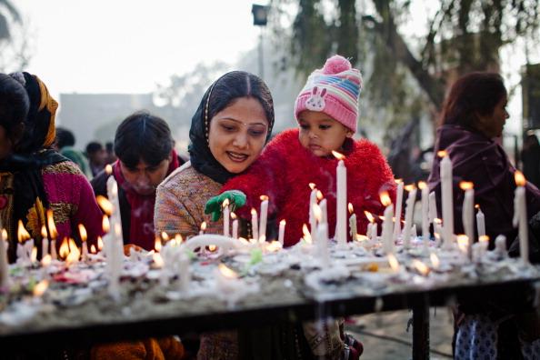 Human Interest「Christians Celebrate Christmas In New Delhi」:写真・画像(12)[壁紙.com]