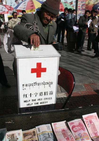 Human Arm「Donations Pour In As China Responds To Tsunami Disaster」:写真・画像(1)[壁紙.com]