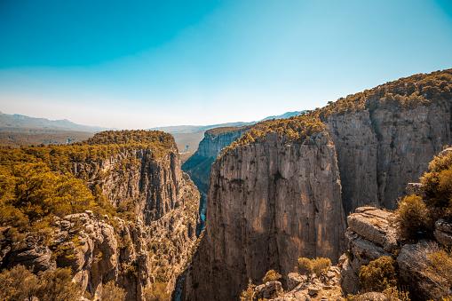 Antalya Province「River and big rocks with Tazi Canyon, Antalya」:スマホ壁紙(16)