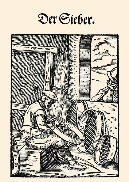 Cooking Utensil「Profession - Sifter. Etching By Jost Amman. From: Hans Sachs Und Jost Amman. Eygentliche Beschreibung Aller Staende Auff Erden . Frankfurt Am Main 1568.」:写真・画像(4)[壁紙.com]