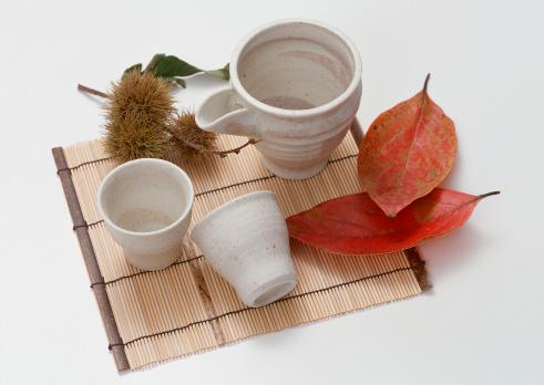 栗「Lipped Bowl and Small Sake Cup」:スマホ壁紙(17)