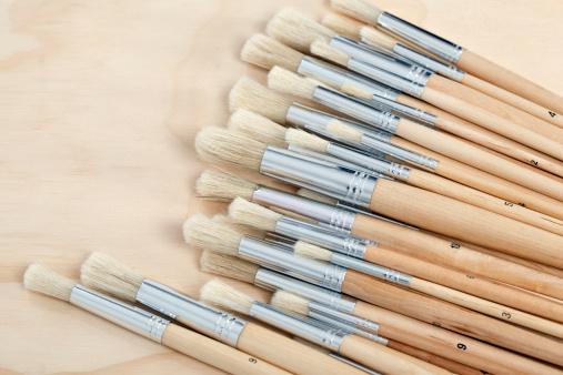 New Jersey「Artists paint brushes」:スマホ壁紙(12)