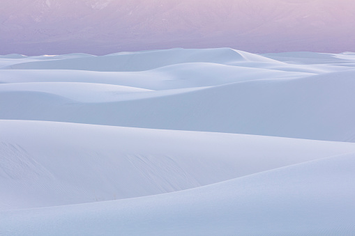 New Mexico「White dunes, White Sands NM, New Mexico, USA」:スマホ壁紙(13)