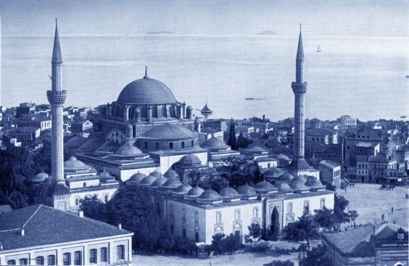 16世紀のスタイル「Mosque of Sultan Bajesid II (or Bayezid II)」:写真・画像(12)[壁紙.com]