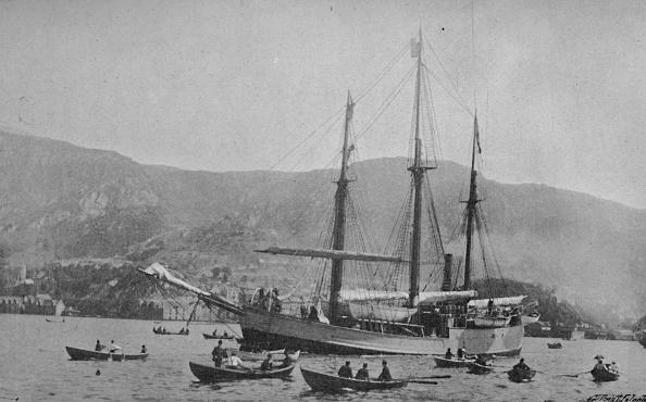 Rowing「'The Fram Leaving Bergen', 1893,」:写真・画像(15)[壁紙.com]