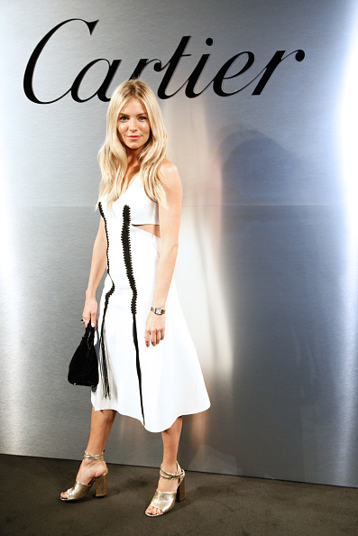 Silver Colored「Cartier Celebrates The Launch Of Santos de Cartier Watch - Photocall」:写真・画像(16)[壁紙.com]