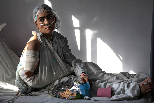 Kabul「Afghan Civilians Suffer In Attacks From All Sides」:写真・画像(3)[壁紙.com]