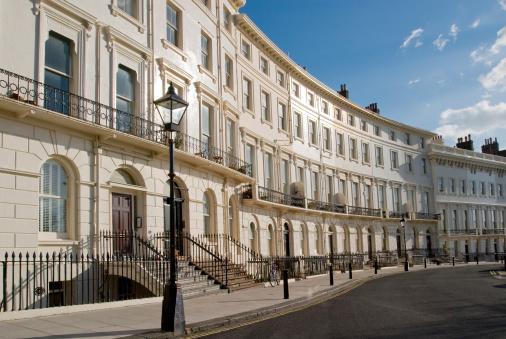 Brighton - England「Brighton regency crescent.」:スマホ壁紙(7)