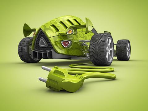 Hot Rod Car「eco car」:スマホ壁紙(14)