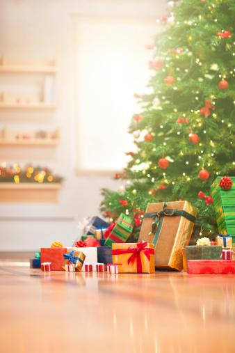 プレゼント「クリスマスの朝」:スマホ壁紙(4)