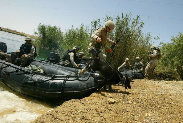 Clear Sky「U.S. Marines Participate In Light Craft Drill On The Euphrates」:写真・画像(12)[壁紙.com]