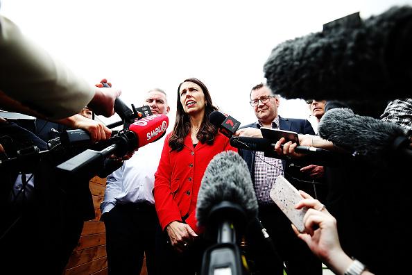Politics「Labour Leader Jacinda Ardern Speaks To Media Following Election」:写真・画像(14)[壁紙.com]