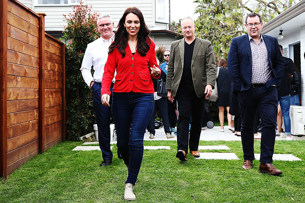 Arrival「Labour Leader Jacinda Ardern Speaks To Media Following Election」:写真・画像(2)[壁紙.com]