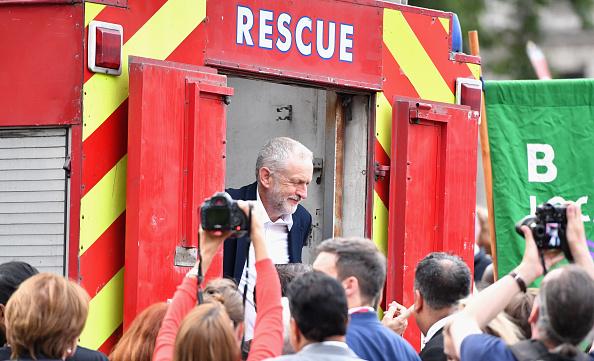動き「Momentum Members Rally In Support Of Jeremy Corbyn」:写真・画像(19)[壁紙.com]