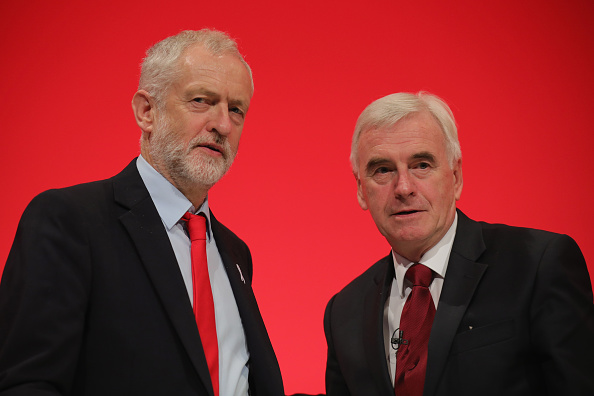Jeremy Corbyn「Shadow Chancellor John McDonnell Delivers His Keynote Speech To Labour Party Conference」:写真・画像(14)[壁紙.com]