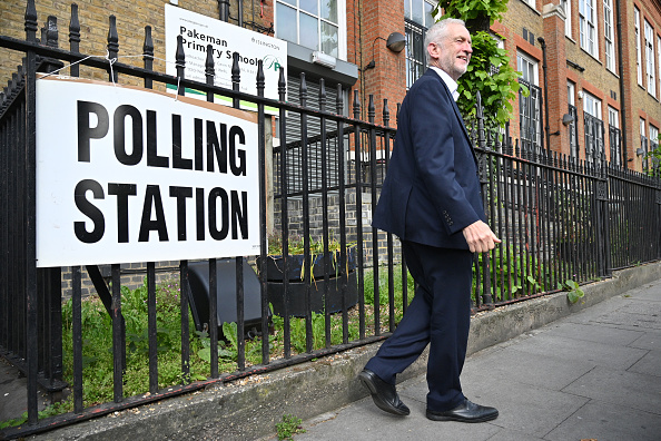 Polling Place「British Political Figures Vote In The European Elections」:写真・画像(14)[壁紙.com]