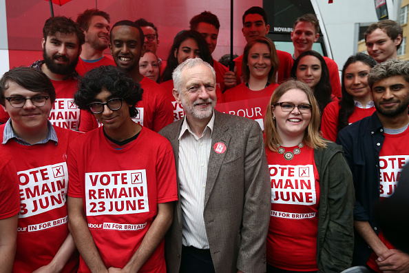 Brexit「Jeremy Corbyn And Alan Johnson Launch The Labour In Battle Bus」:写真・画像(9)[壁紙.com]