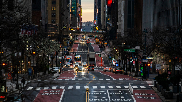 Street「New York City Shuts Down Some Streets To Promote Social Distancing」:写真・画像(10)[壁紙.com]