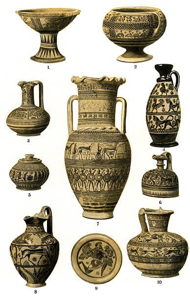 The development of Greek pottery:ニュース(壁紙.com)