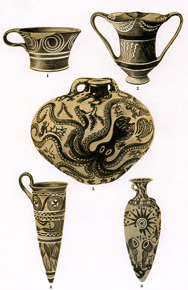 Development「The development of Greek pottery」:写真・画像(6)[壁紙.com]