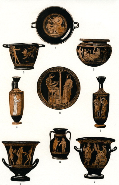 Classical Greek「The development of Greek pottery」:写真・画像(11)[壁紙.com]