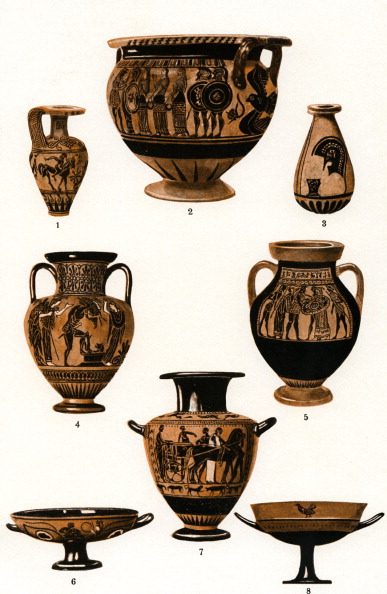 Classical Greek「The development of Greek pottery」:写真・画像(7)[壁紙.com]