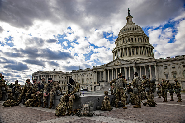 National Guard「Protests Expected In Washington DC Ahead Of Biden Inauguration」:写真・画像(12)[壁紙.com]