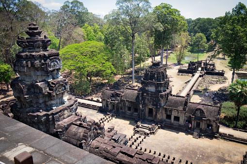 Temple「Angkor Thom, Cambodia」:スマホ壁紙(17)