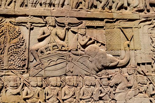 馬「Angkor Thom, Cambodia」:スマホ壁紙(14)
