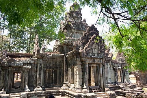 Temple「Angkor Thom, Cambodia」:スマホ壁紙(16)