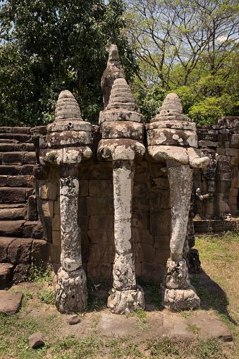 Temple「Angkor Thom, Cambodia」:スマホ壁紙(19)