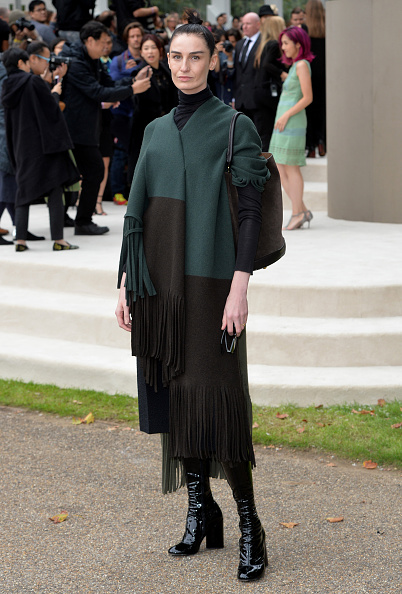 ロンドンファッションウィーク「Burberry Prorsum - Arrivals - LFW SS16」:写真・画像(13)[壁紙.com]
