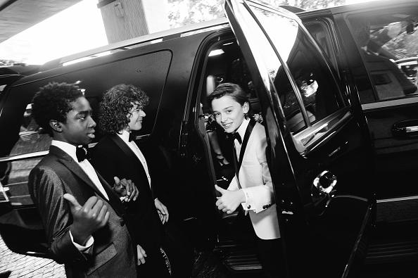 Emma McIntyre「Finn Wolfhard, Caleb McLaughlin and Noah Schnapp Prepare For The 74th Annual Golden Globe Awards」:写真・画像(1)[壁紙.com]