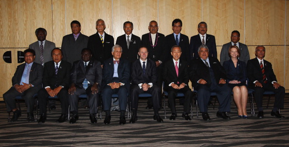 Land「42nd Pacific Islands Forum Takes Place In Auckland - Day 2」:写真・画像(15)[壁紙.com]