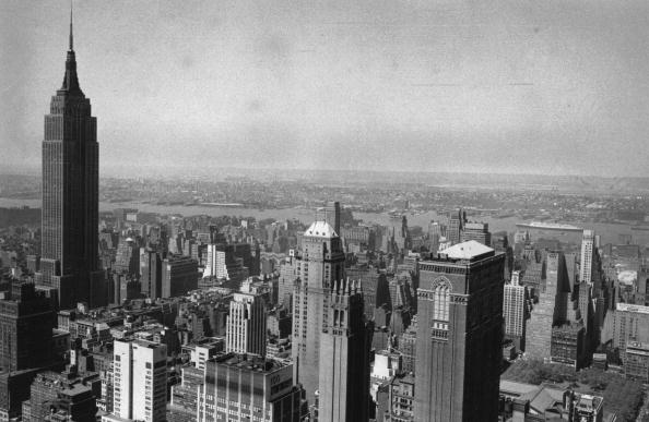Urban Skyline「New York Skyscrapers」:写真・画像(4)[壁紙.com]