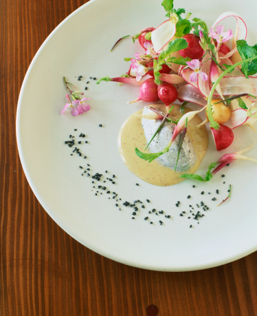 Vinaigrette Dressing「Radish salad with chevre and vinaigrette」:スマホ壁紙(18)
