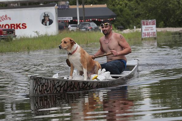 Mississippi River「Midwest Rivers Reach Major Flood Stage At Historic Levels」:写真・画像(10)[壁紙.com]
