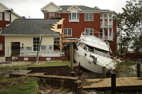 Hurricane - Storm「Carolinas' Coast Line Recovers From Hurricane Florence, As Storm Continues To Pour Heavy Rain On The States」:写真・画像(17)[壁紙.com]