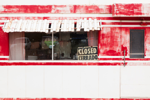 Going Out Of Business「Vintage Route 66 Diner, Out of Business, Closed」:スマホ壁紙(14)
