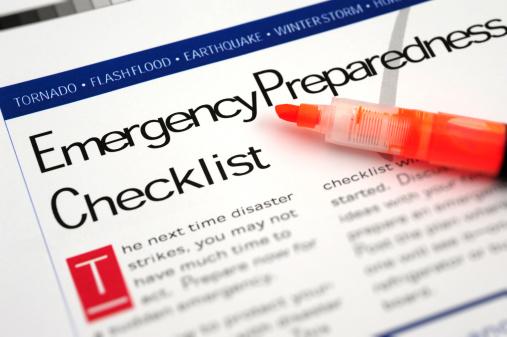 Urgency「Emergency Checklist」:スマホ壁紙(4)