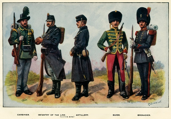 Males「Types Of The Belgian Army」:写真・画像(11)[壁紙.com]