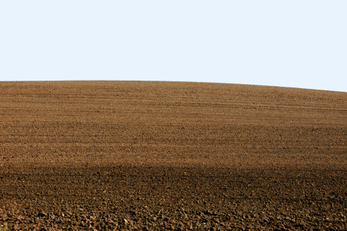 Plowed Field「Curved Landscaped Hill Crest Background」:スマホ壁紙(19)