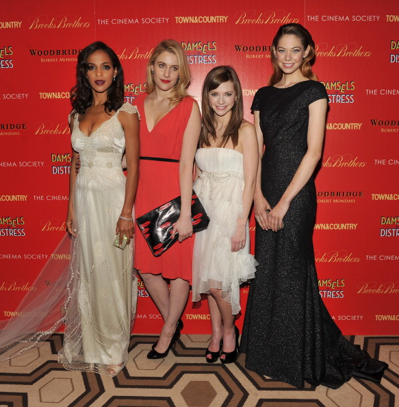 """Stephen Lovekin「The Cinema Society with Town & Country And Brooks Brothers Host A Screening Of """"Damsels In Distress"""" - Inside Arrivals」:写真・画像(3)[壁紙.com]"""