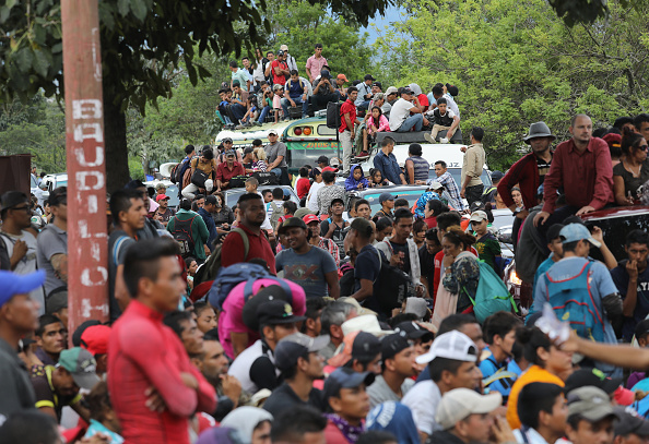 Guatemala「Migrant Caravan Pushes North Into Guatemala」:写真・画像(0)[壁紙.com]